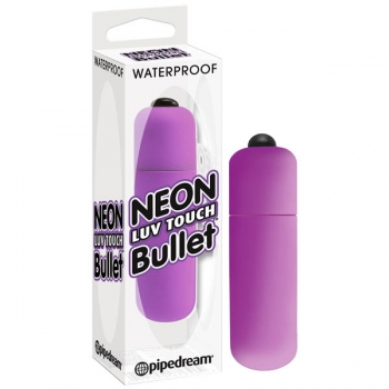 Neon Luv Touch Purple Bullet Vibrator