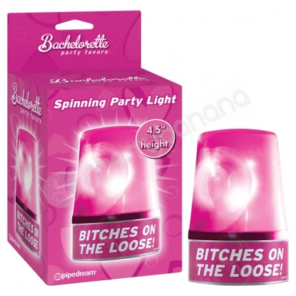 Bachelorette Party Favors Spinning Party Light