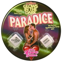 Glow In The Dark Paradice Love Dice