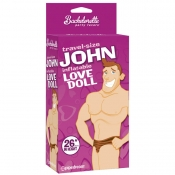 Travel-Size John Inflatable Love Doll