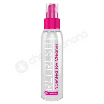 Refresh Strawberry Scented Toy Cleaner 118ml