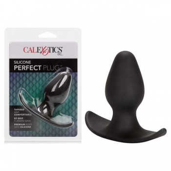 Black Silicone Perfect Plug