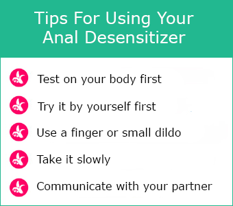 Anal Desensitizers
